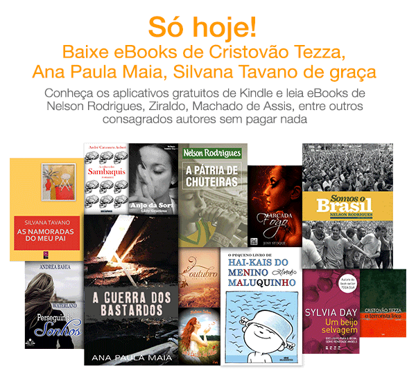 Durante a quarta-feira, 16, a Amazon.com.br está oferecendo mais de 100 eBooks gratuitos. A promoção é uma parceria exclusiva com o Catraca Livre.