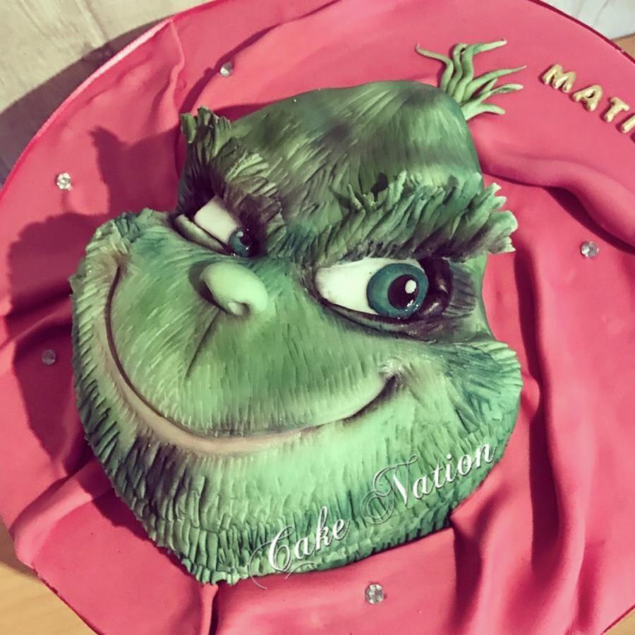Grinch cake Cake by Cake Nation Grinch cake, Grinch