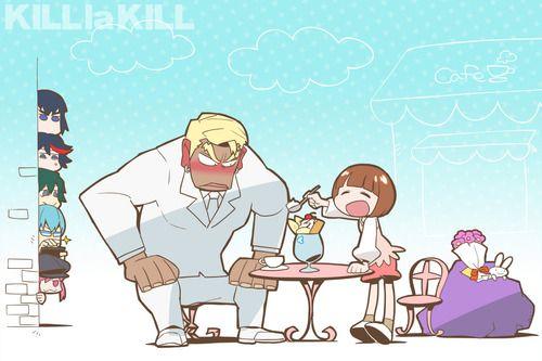 Kill La Kill Mako And Gamagori On A Date Kill A Kill Kill