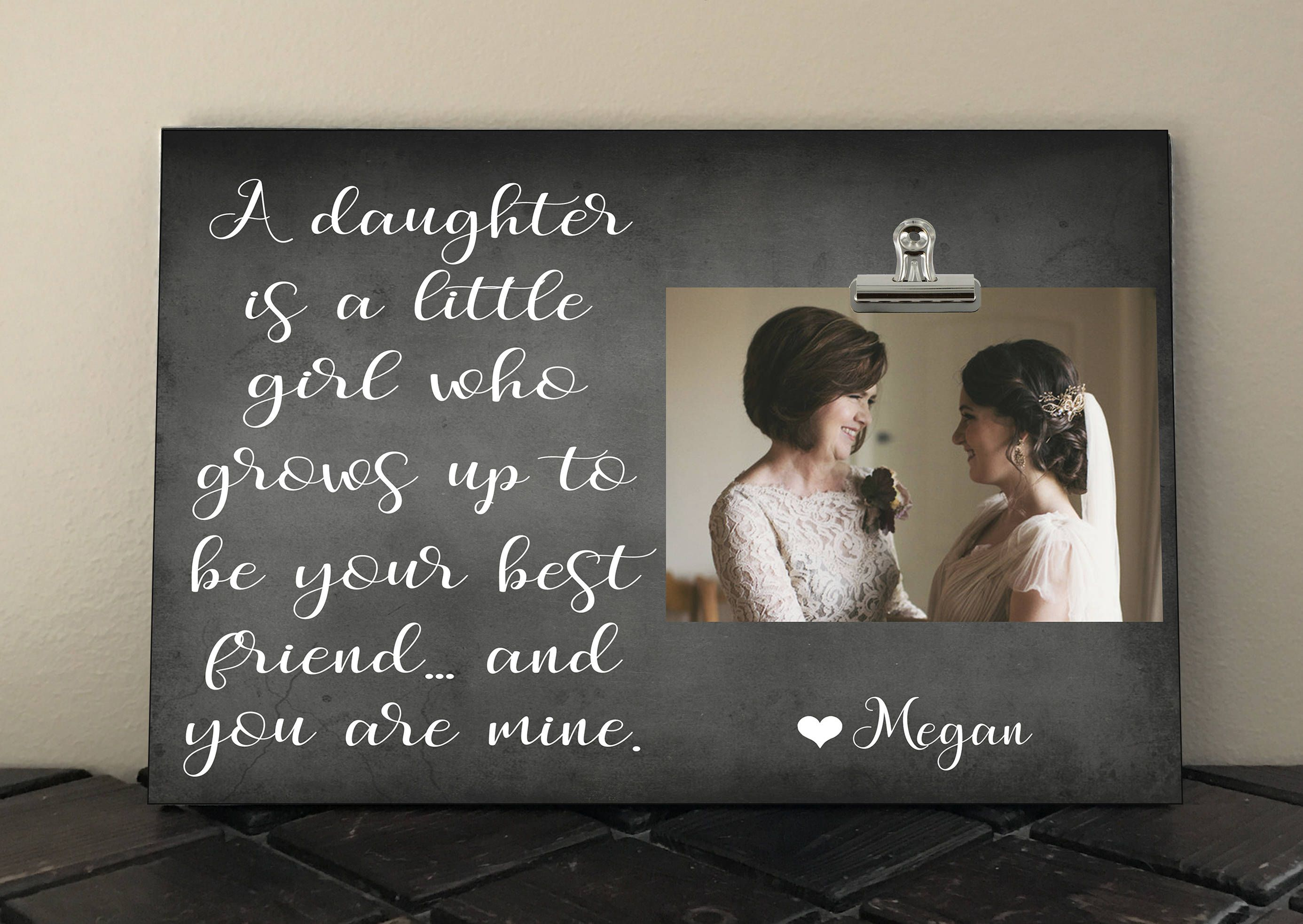 A DAUGHTER is a Little Girl who grows up to be your BEST FRIEND ...