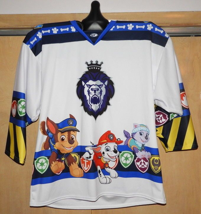 d154a93fd 2017-18 Reading Royals Paw Patrol Themed Jersey - Nickelodeon  OTSports   ReadingRoyals