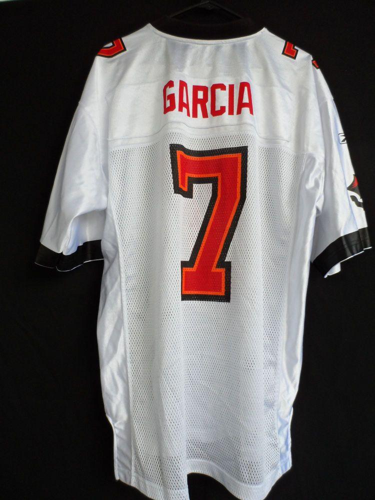 Tampa Bay Buccaneers NFL Jersey Jeff Garcia Reebok Size L  Reebok   TampaBayBuccaneers 212175b2d