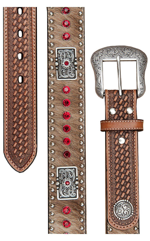 18a6829dcf Nocona® Mens Rhinestone Western Belt N2442708   Cavender's Boot City ...