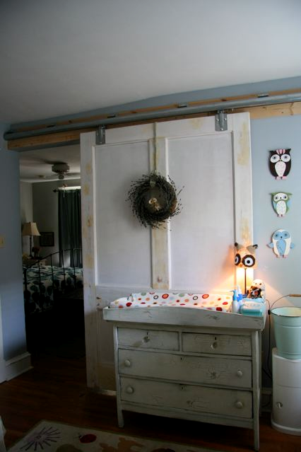 Sliding Barn Door Nursery Barn Doors In 2018 Pinterest Doors