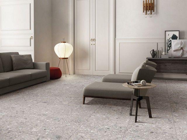 Pavimento in gres porcellanato by iperceramica for Pavimento gres effetto pietra