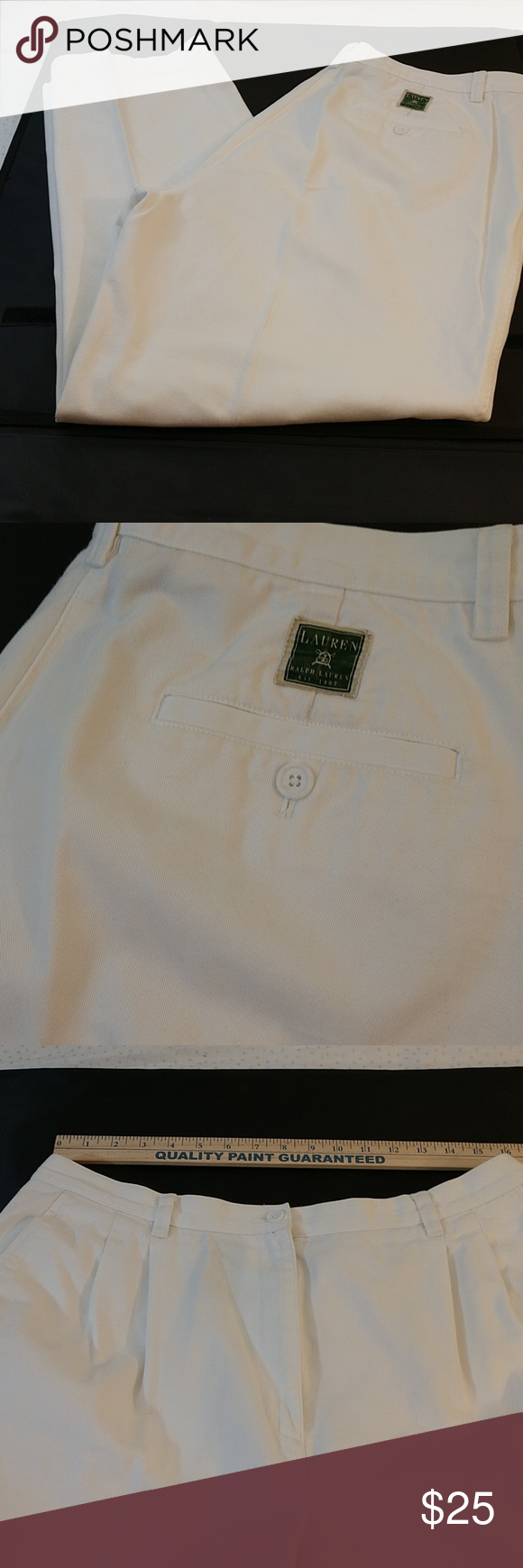 White Slacks Pleated Front White Slacks. See pics for measurements. Approx 28 inseam. Very clean. No spots, rips, stains, holes. MInimal signs of wear. Ralph Lauren Pants Trousers #whiteslacks White Slacks Pleated Front White Slacks. See pics for measurements. Approx 28 inseam. Very clean. No spots, rips, stains, holes. MInimal signs of wear. Ralph Lauren Pants Trousers #whiteslacks White Slacks Pleated Front White Slacks. See pics for measurements. Approx 28 inseam. Very clean. No spots, rips, #whiteslacks