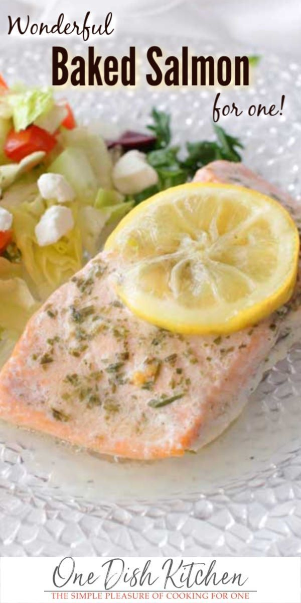 This baked salmon recipe features a salmon fillet baked in foil which allows for  This baked salmon recipe features a salmon fillet baked in foil which allows for a flavo...