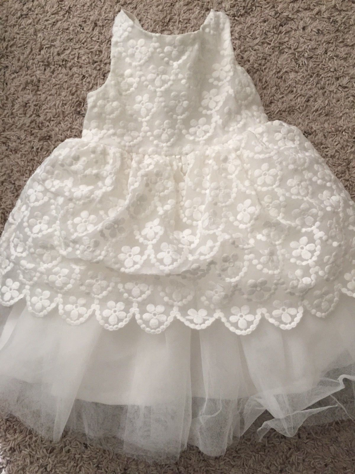 Girls wedding dress  NEW Janie and Jack Baby Toddler Girl Wedding Dress COMPLETE SET