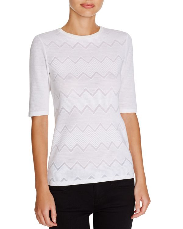 Theory Santeca C Terrace Knit Top | Products | Pinterest