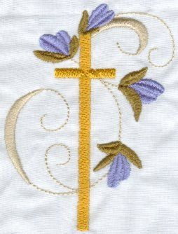 My Embroidery Haven, Blessed Crosses Religious Heirloom Machine ...