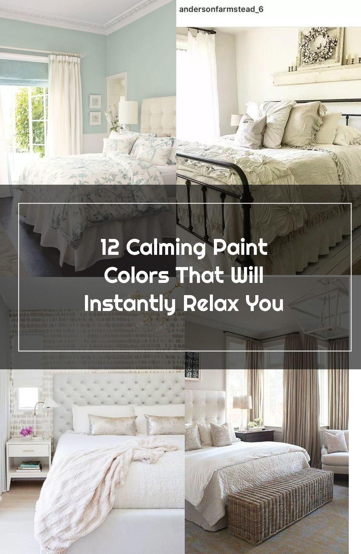 Sea Blue Bedroom Color #paintcolor #relax #homedecor #calming color #decorhomeideas
