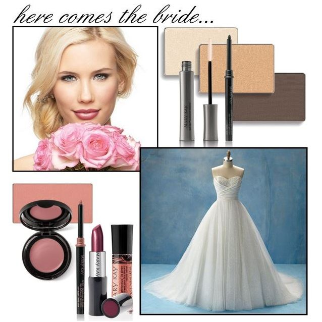 You've got the man, the ring, and the dress – now it's time to choose your makeup! Try this pretty summer look for your big day, created by Mary Kay Global Makeup Artist Keiko Takagi.
