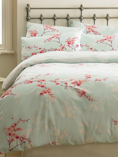 M Co Homeware Cherry Blossom Duvet Set Duvet Sets Bedding Sets