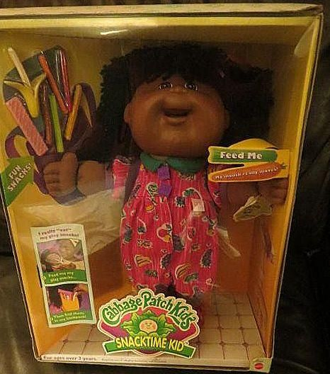 Collector 14 Cpk Snacktime Kids Were Introduced By Mattel At The End Of 1995 In Time For Christmas And Were Recalled In Jan Feb 1997 Due To Children