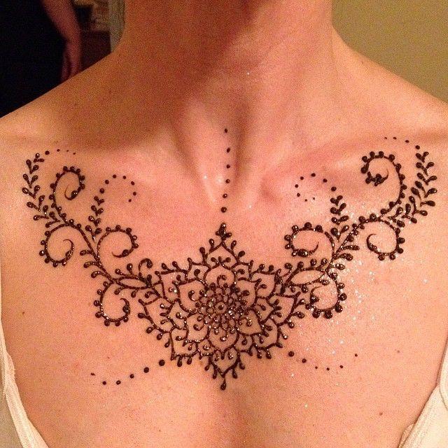Henna Tattoo Neck Designs: Image Result For Henna Neck Tattoo