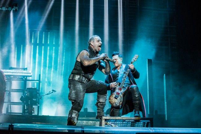 Rammstein Rockten Den Feitag Am Rock In Vienna 2016 Rammstein