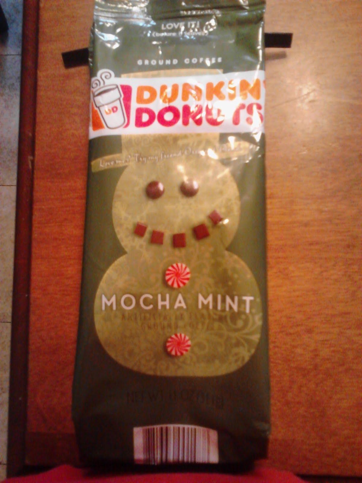 Dunkin Donuts Mocha Mint (With images) Mint mocha, Dunkin