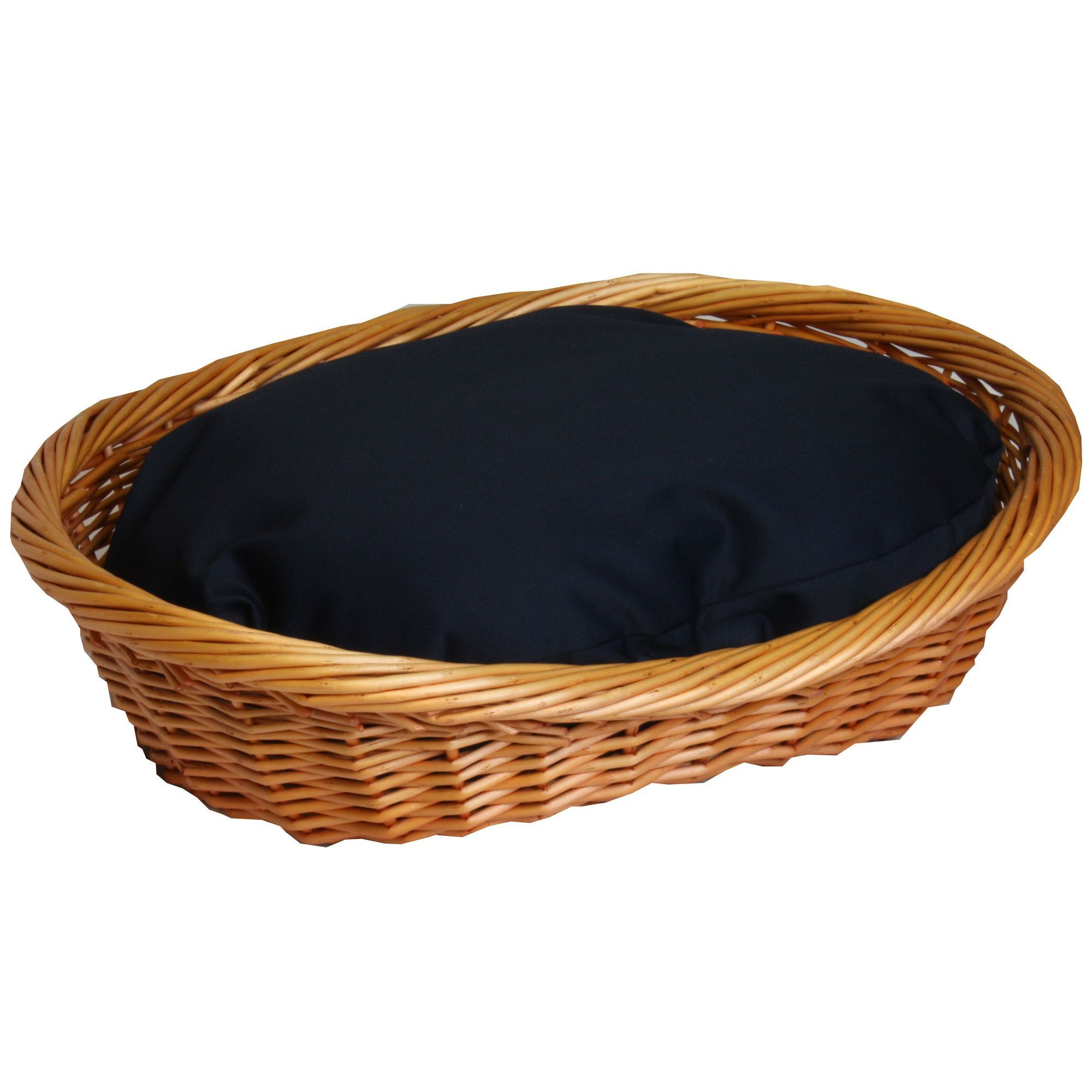 Wicker Dog Basket and Bed Dog bed mat, Old wicker, Wicker