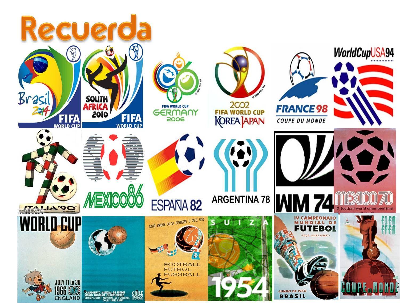 Cartel Con Todos Los Mundiales De Futbol Fifa World Cup France Fifa 2006 World Cup