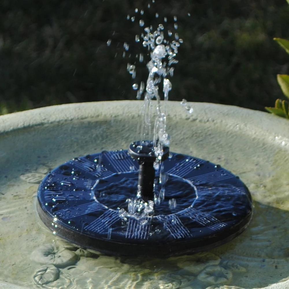 Solar Garden Fountain Solar fountain, Solar garden