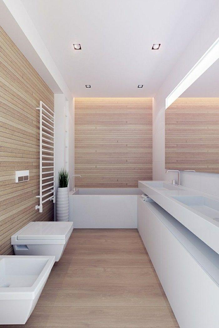 salle de bain beige et blanche avec meuble salle de bain aubade dans ...