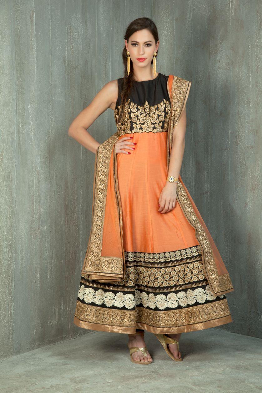 Embroidered silk kurta churidar jade saree and lehenga blouse