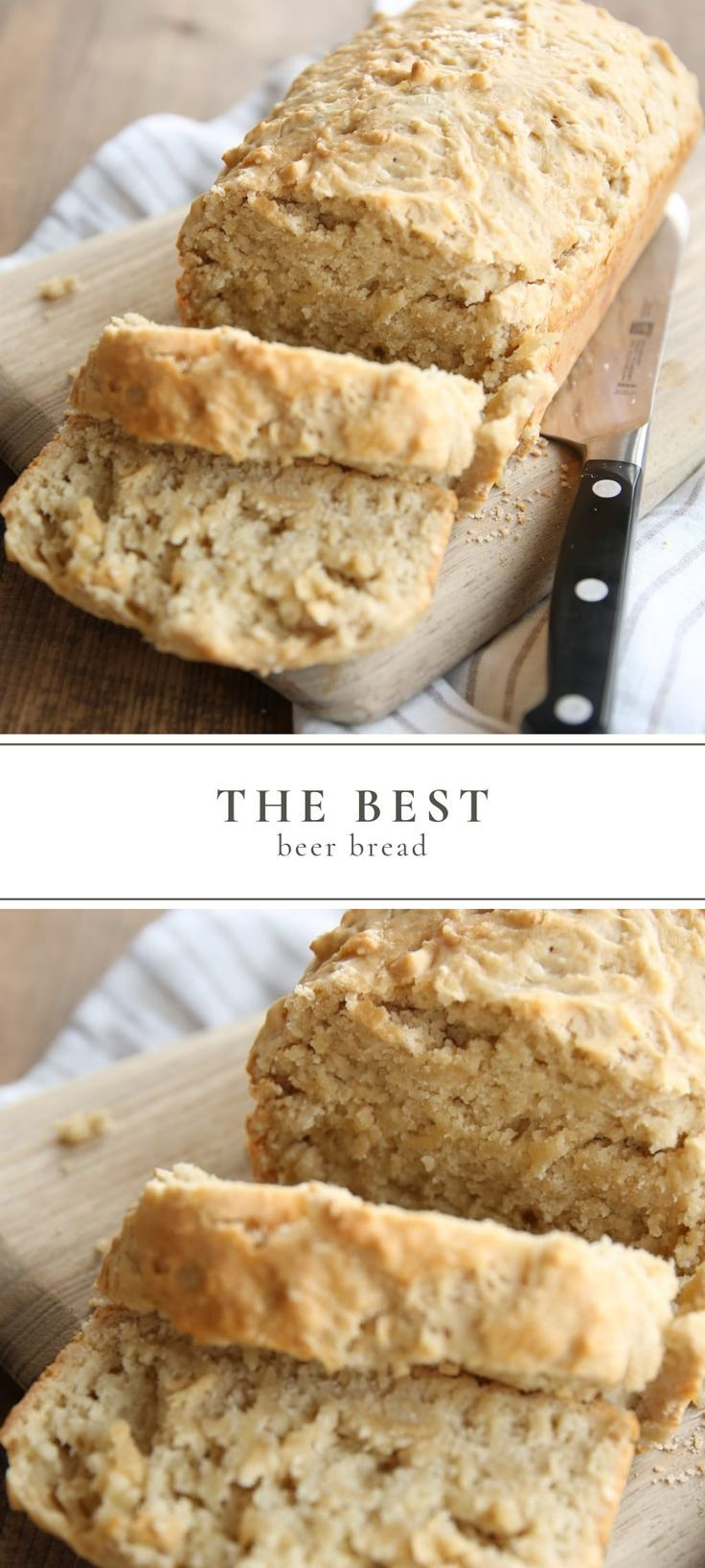 The best Beer Bread is incredibly simple. made from staple ingredients. This beer bread recipe ha… | Beer bread recipe. Bread recipes homemade ...