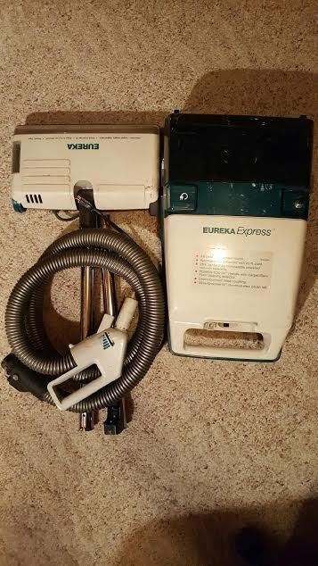 Details About Vintage Eureka Canister Vacuum Cleaner Power