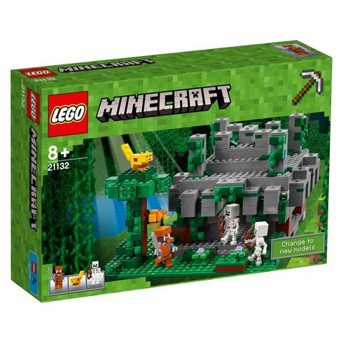 Superb LEGO Minecraft The Jungle Temple 21132 Now At Smyths Toys ...