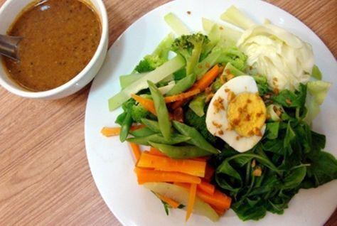 Cara Membuat Pecel Sayur Khas Jawa Enak Sehat Dan Resep Pecel Sayuran Bumbu Kacang Pedas Lengkap Resep Salad Sayur Khas Indones Makanan Salad Sayur Resep Salad