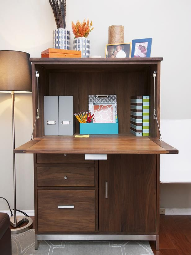 Install a streamlined secretary so that you can use the bedroom as ...