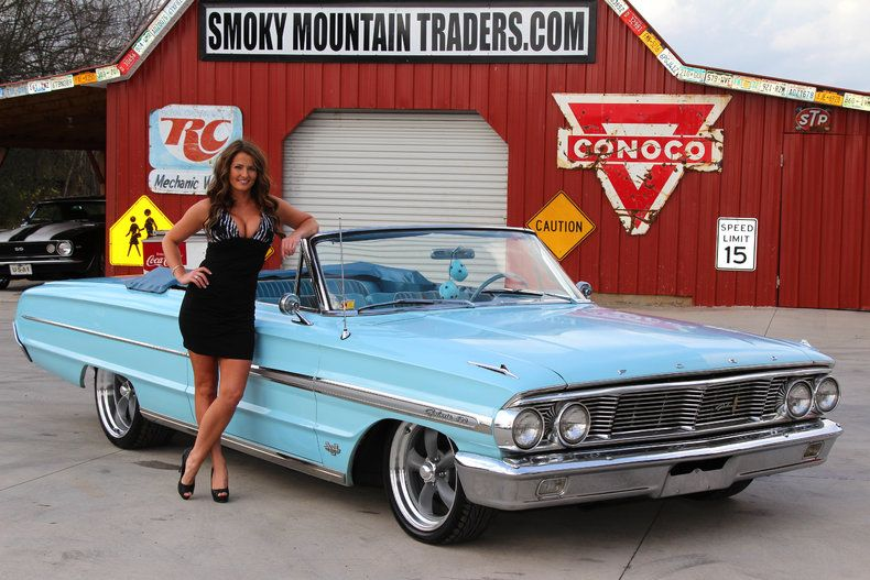 Smoky Mountain Traders Girls Pics 1964 Ford Galaxie 500