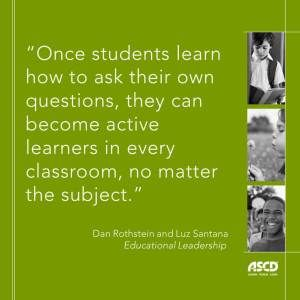 Do your students know how to ask their own questions? In this blog post, you'll learn why it's important for people to learn to ask their own questions and find ways to help your students become active learners.