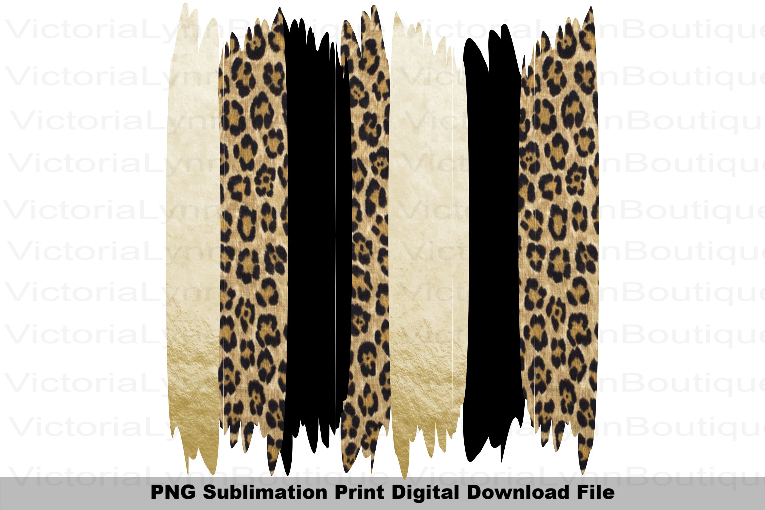Brushstrokes Gold And Leopard Png File For Sublimation Etsy In 2021 Brush Strokes Sublimation Printing Cheetah Print Wallpaper