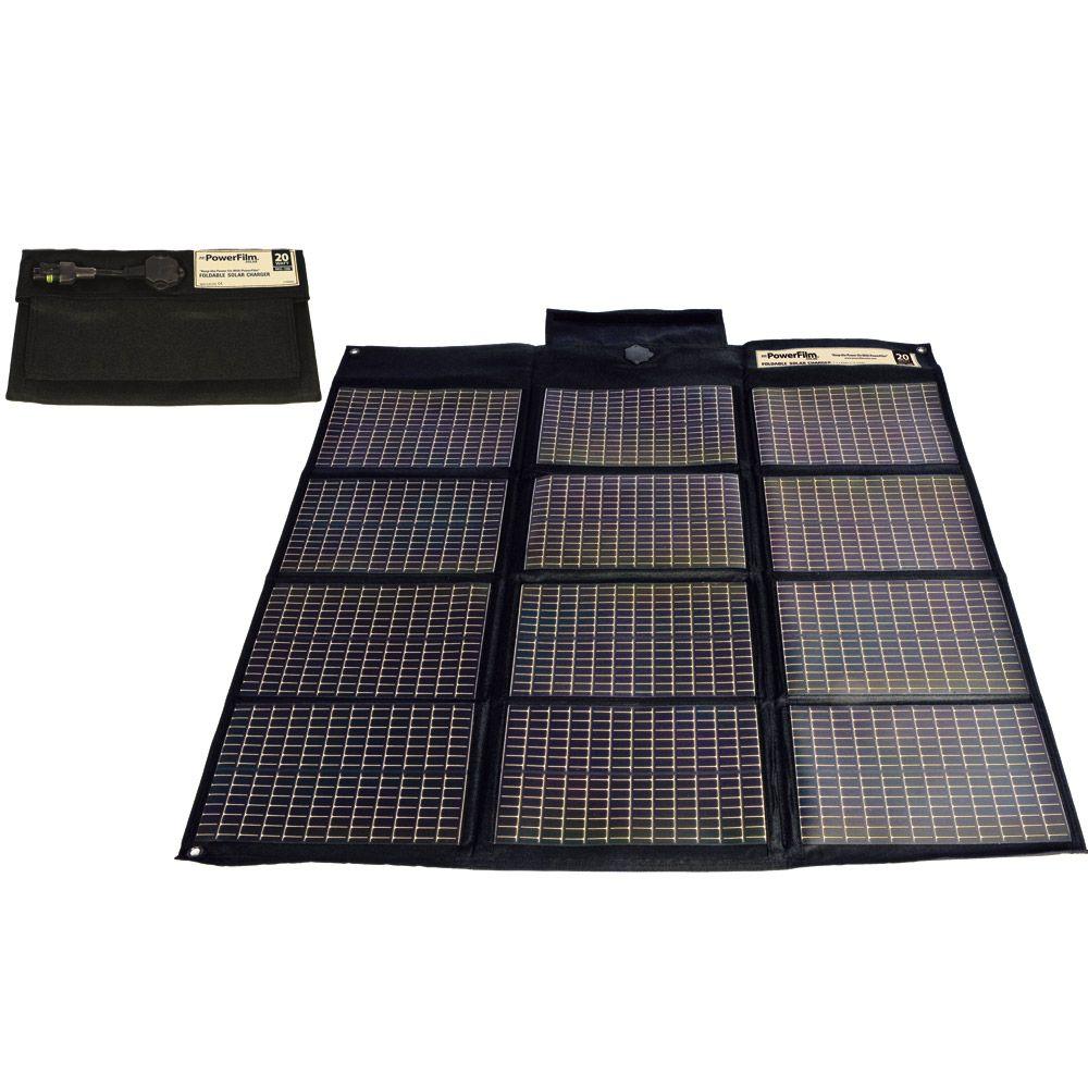Powerfilm F16 1200 20w Folding Solar Panel Charger Boat Parts For Less Panneau Solaire Solaire Survie