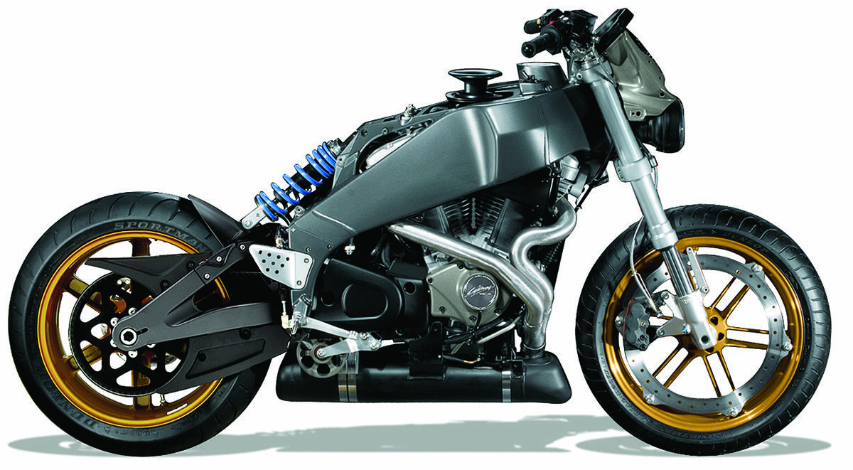 Buell XB Frame  It looks good as it is, so go ahead and rip off all