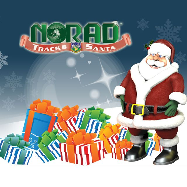 Track Santa all over the world with NORAD live starting