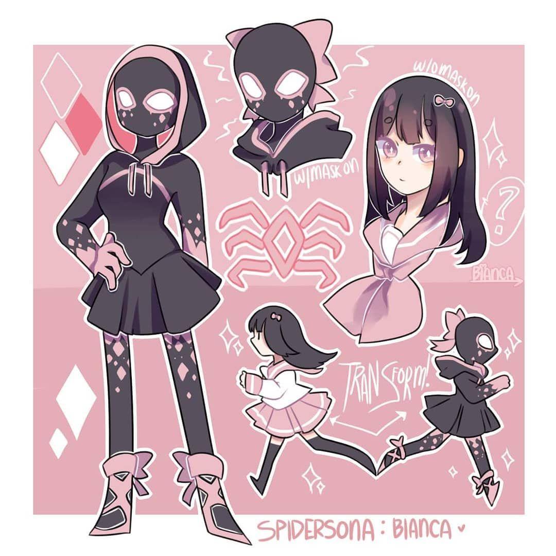 Finally Made A Spidersona Spidersona Oc