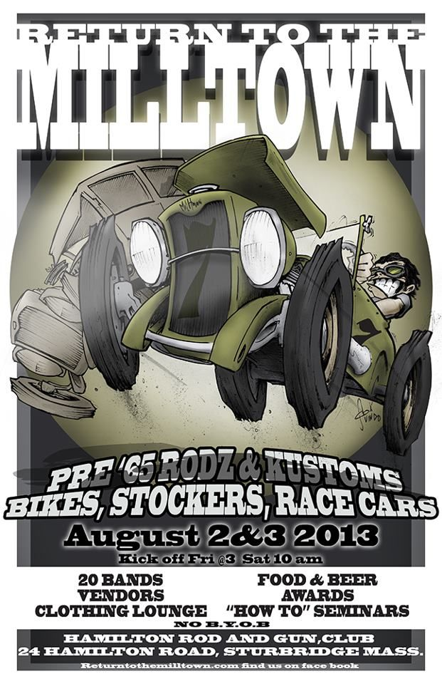 Car Show Return to the Milltown Sturbridge, Mass Find more events ...