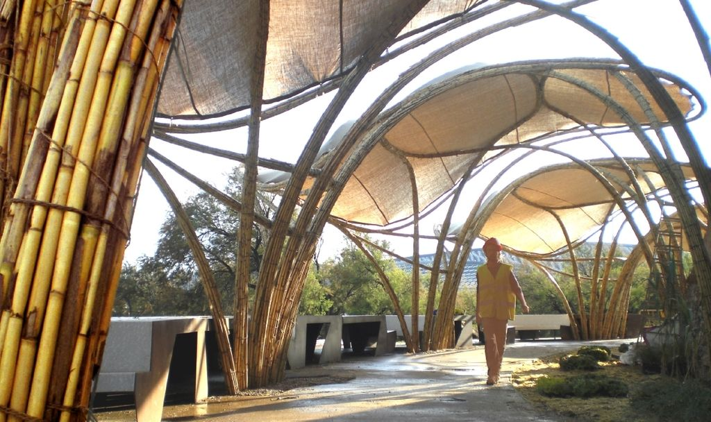 Bamboo Structure Bamboo Structure Concept Architecture
