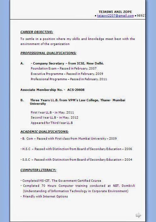 Australian Cv Example Sample Template Example Ofexcellent Curriculum