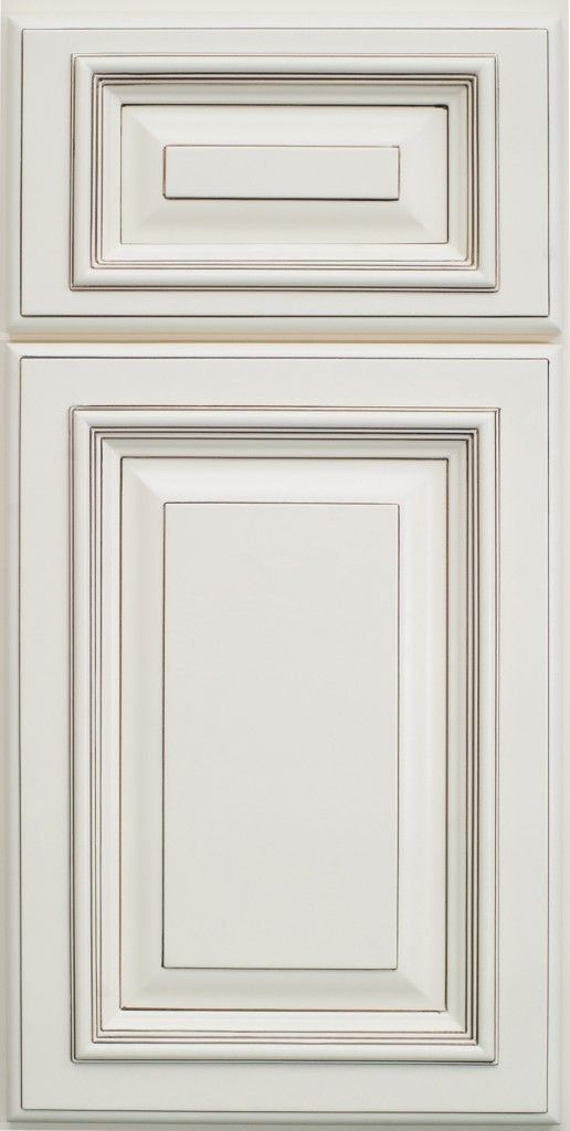 Highlighted White And Square Raised Panel For Kitchen