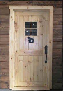 Cabin doors · Rustic Exterior Door & Rustic Exterior Door | Isore | Pinterest | Rustic exterior Doors ...