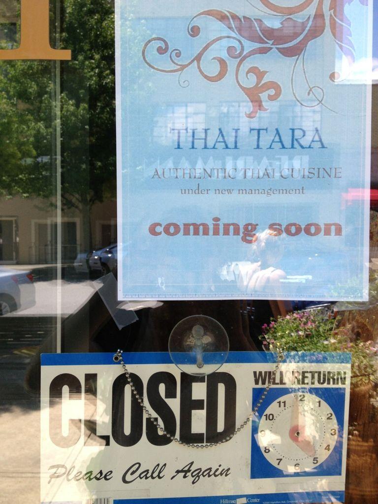 Thai Basil To Reopen Under New Mgmt As Thai Tara Thai Basil Thai Thai Cuisine
