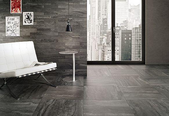 Piastrelle Da Parete Per Esterno : Rivestimenti e pavimenti per interni reverso2 black 60x60 73x30