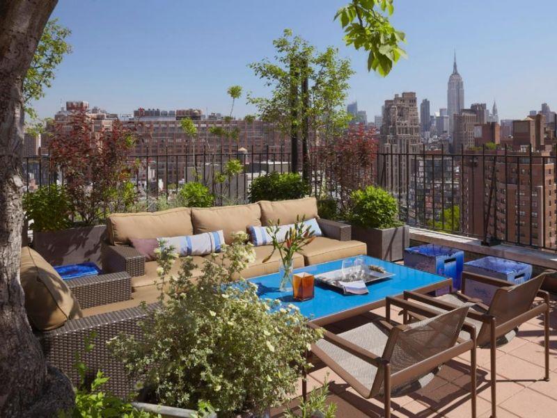 Terrasse Und Balkon Mit Pflanzen Und Blumen Gestalten U2013 53 Ideen #balkon # Blumen #