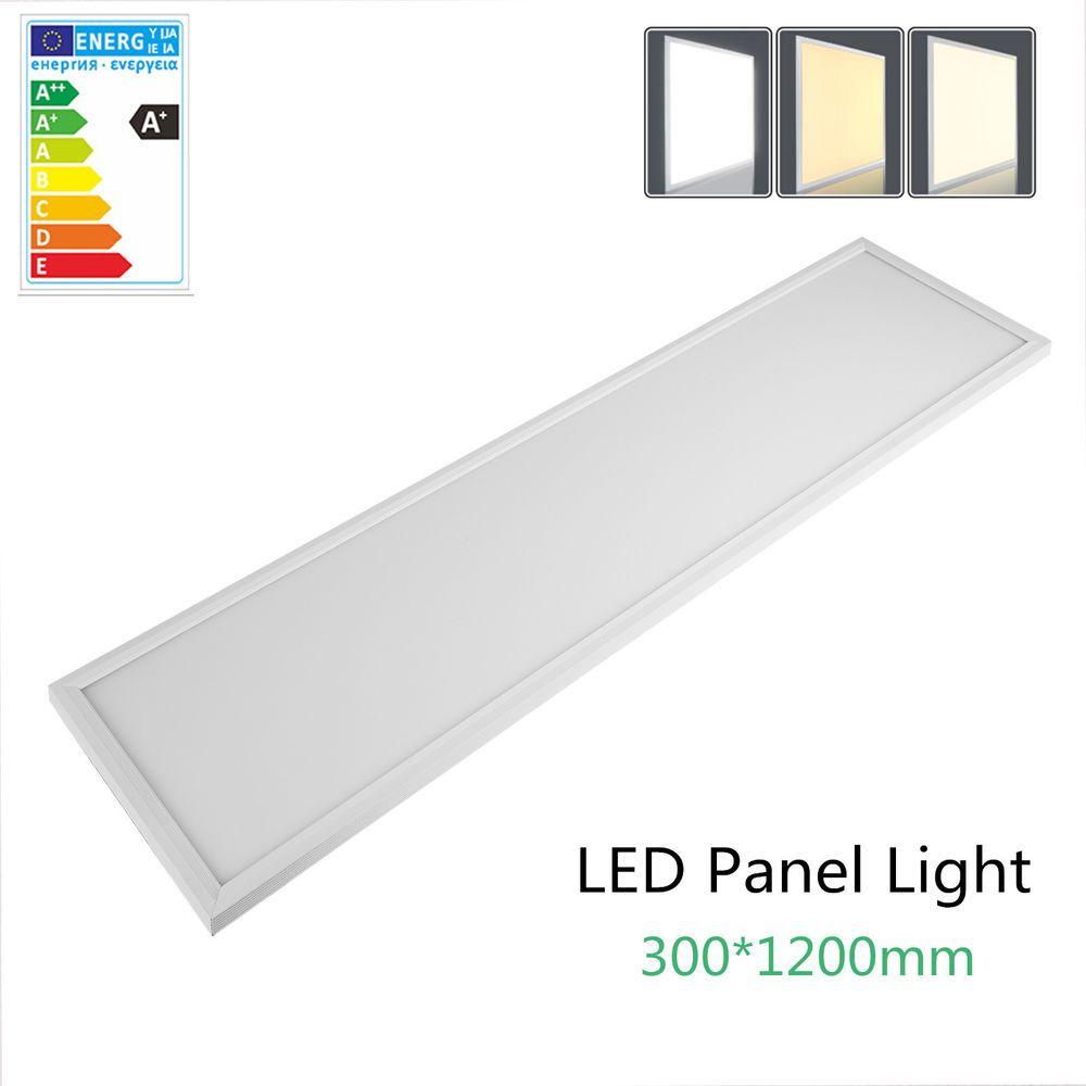 LED Panel 120x30cm 36W 48W 72W Deckenleuchte Einbauleuchte Ultraslim Mit  Trafo | Möbel U0026 Wohnen,