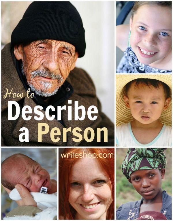 How to describe a person Strong words, Descriptive words and