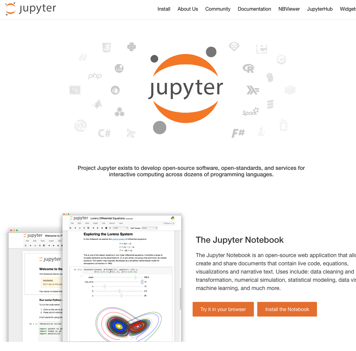 The Jupyter Notebook Is An Open Source Web Application That Allows You To Create And Share Documents T Web Application Data Visualization Interactive Dashboard