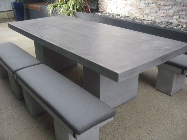 Stone Table Garden Furniture